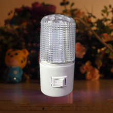 New Fashion LED night light US Plug bedroom lamp For Baby Bedroom Romantic Lights Free Shipping