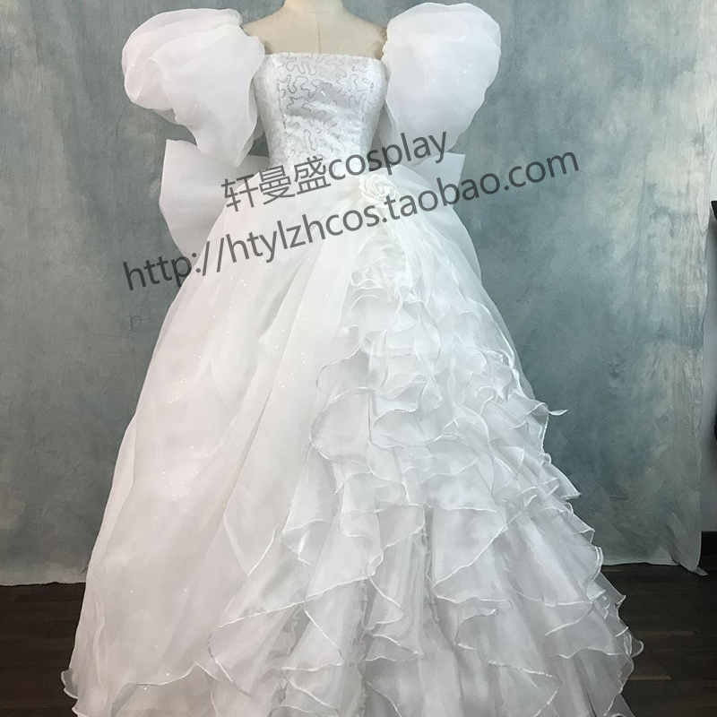 Enchanted Giselle White Wedding Dress Enchanted Film