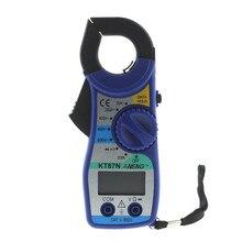 KT87N цифровой мультиметр Ампер клещи токовые клещи AC/DC Ток Напряжение тест er счетчик частоты измеритель мощности тест