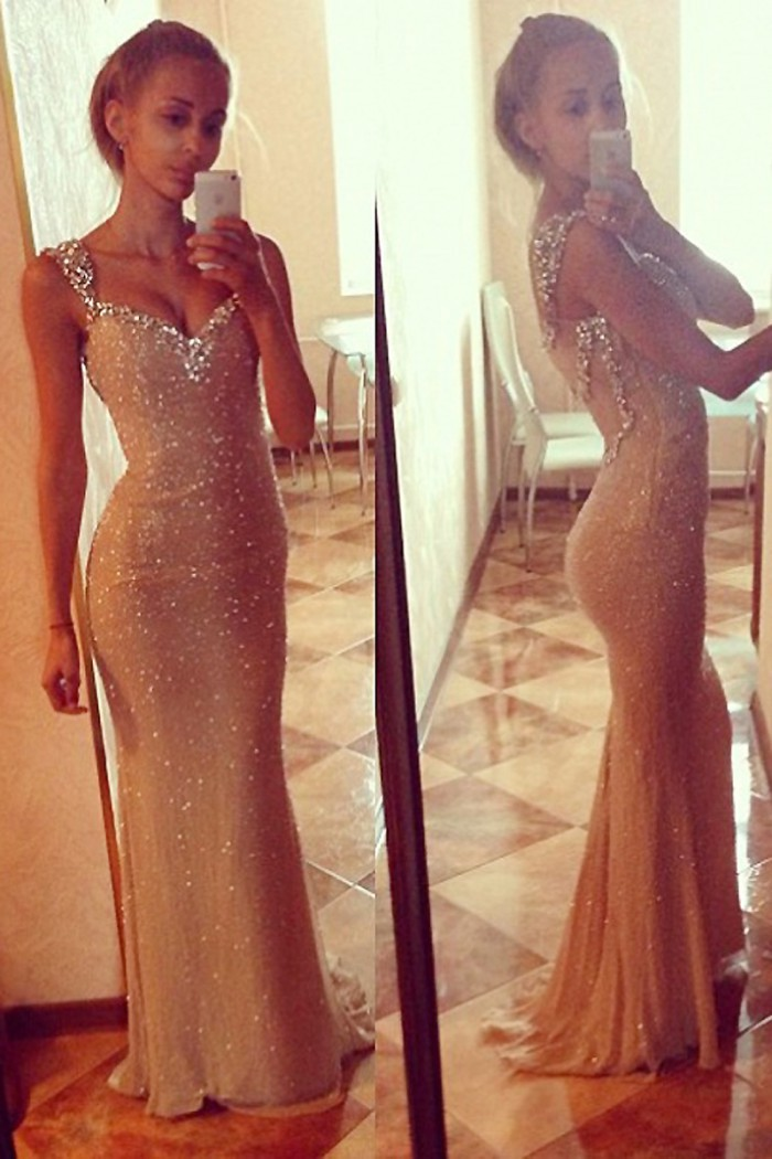 Remise-nouvelle vente chaude sirène sur mesure Sexy col en v brillant Sequin longue robe formelle élégante robes de soirée