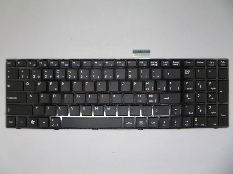 Laptop Keyboard For MSI GT680 GT680R GT683 GT683DX GT683R GT685 GT685R P600 PR600 S6000 Italy IT Turkey TR in Keyboards from Computer Office