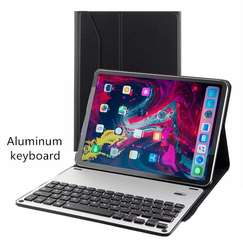 Métal étui pour clavier bluetooth Pour iPad Pro11 2018 Veille automatique/Réveil Housse De Protection Intelligente Pour Apple iPad 11 2018 Coque