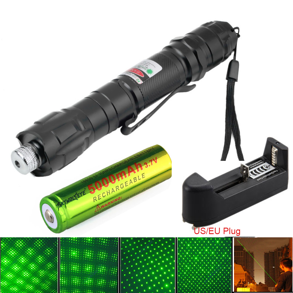 High Quality Green Laser Pointer Starry Pen Flashlight Waterproof Lazer With 18650 Battery Lasting Laser light For Teaching охватывающие наушники pioneer hdj x7 black