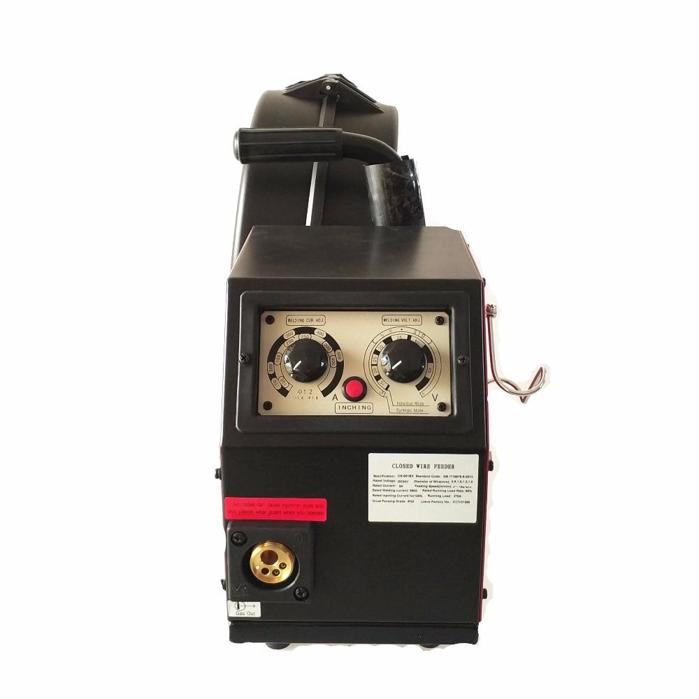 Sistema Alimentador de Arame 350A CS501BX DC24v 4 Rolos 0.8-1.6mm Feed Rolls 300 milímetros Carretéis para Controle Remoto CE Máquina de Solda MIG MAG