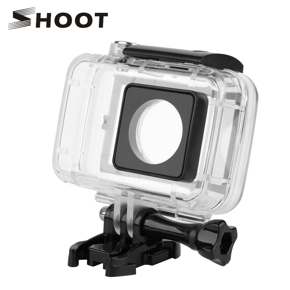 40M Diving Waterproof Case for Xiaomi Yi 4K Xiaoyi 2 II Case With Touch Backdoor For