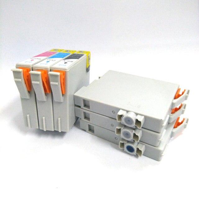 Einkshop T0481-T0486 Cartouche Dencre Pour Epson Stylus Photo R200 R220 R300 R300M R320 R340 RX500 RX600 RX620 RX640 Imprimante