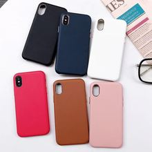 Luxury Business Leather Phone Case For Iphone XMAX XR XS Back Cover Iphone6 6S 7 7P 8 8Plus Capa Fundas