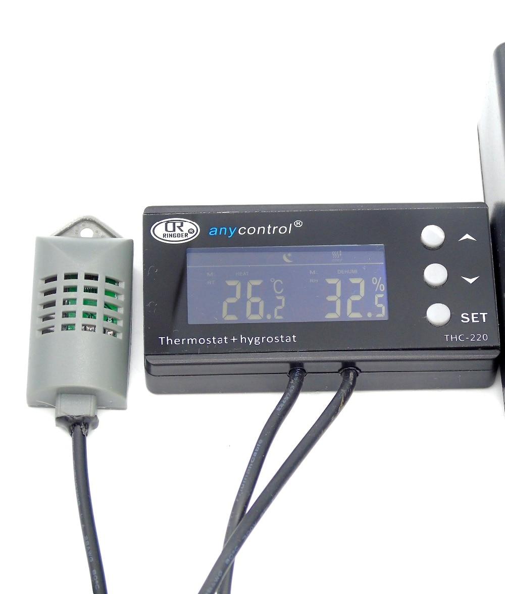 220V10A EU US AU UK Plug digital thermostat temperature controller for incubator reptile green house