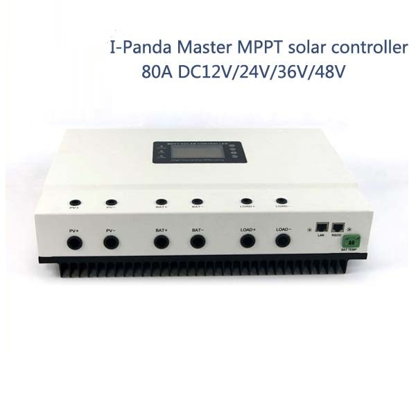 80A 48V PV regulator, 48V 80A Master MPPT solar charge controller with RS232 Lan, DC load Ctrl, 80A solar home controller new 3213 full aluminum chassis amplifier case external size 320 130 313mm