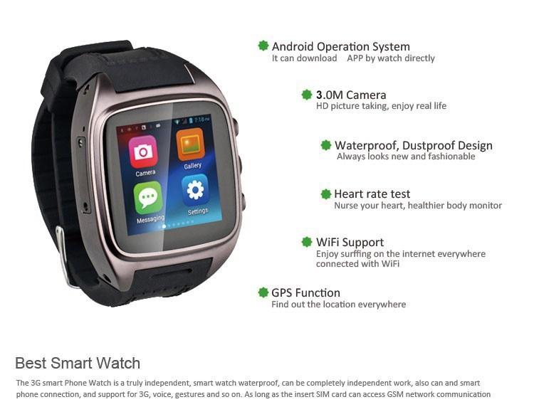 """Aliexpress.com : Buy Smart Watch 1.54"""" SIM+GPS+WiFi"""