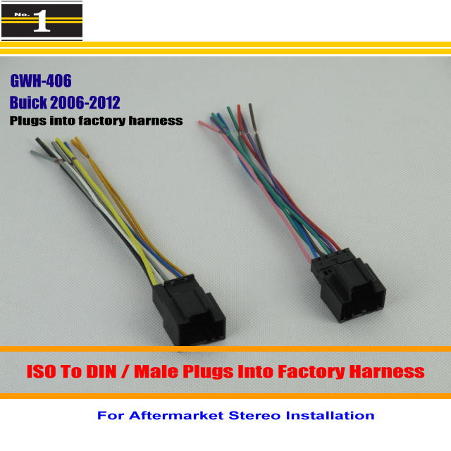 For Buick Enclave Lucerne font b Car b font Radio CD Player TO Aftermarket Stereo DVD buick lucerne door wiring harness 1948 buick wire harness, buick wiring harness 2011 buick lucerne at alyssarenee.co
