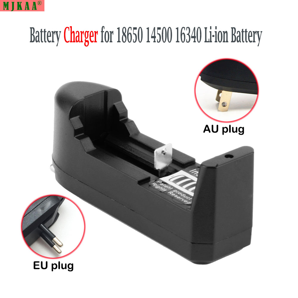 2pcs 3.7V 18650 14500 16430 Battery Charger AA Battery Charger AAA Battery Charger For 18650 AA AAA 14500 Rechargeable Batteries