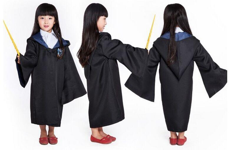 Kids halloween dress up disfraz Harry Potter Cosplay Costumes Adult  Gryffindor Robe cloak Hogwarts Magic Academy party robe tie on  Aliexpress.com  4cffc1b93be5