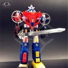 COMIC CLUB INSTOCK trasformazione robot Voltron: Defender of the Universe Voltron Veicolo Forza Fortress Maximus action figure