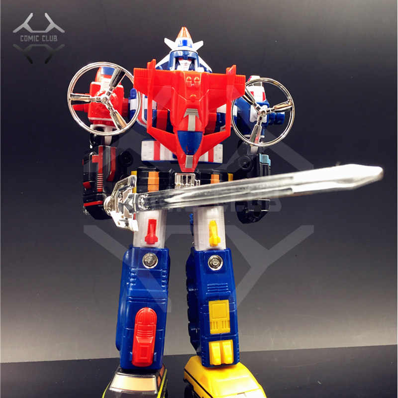 Komiks klub INSTOCK robot transformacyjny Voltron: obrońca wszechświata Voltron pojazd Fortress Maximus figurka