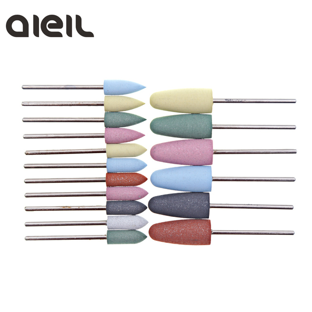 Silicone Nail Drill Bit Cutter for Manicure Machine for Manicure Nail Drill Milling Cutter for Nail Tool Cutter for Pedicure Bit 3