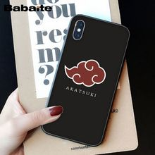 Hokage Naruto anime Soft TPU Phone Cover for iPhone 6S 6plus 7plus 8 8Plus