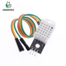 10 ピース DHT22 デジタル温度と湿度センサー AM2302 モジュール + PCB と arduino のためのケーブル