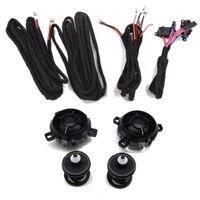 TUKE OEM Air Corne Haut parleurs car speaker tweeter+checkpost+Cable Pour VW Golf Jetta Rabbitt Scorocco 5KD 035 411 A