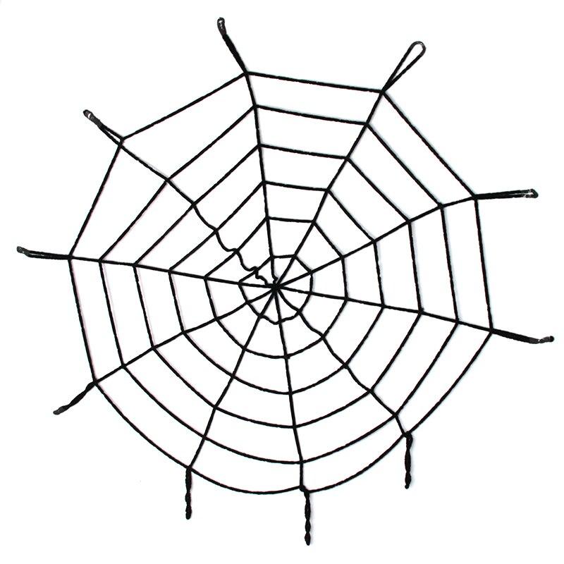 Black/White Creepy New Huge Spider Web Cobweb Party Bar Gift Halloween Decoration Halloween Accessories