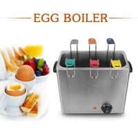 Mini 6 Basket Egg Boiler Machine Egg Water Slow Cooker Quicker Stainless Steel Egg Poacher Machine Kitchen Cooking Accessories