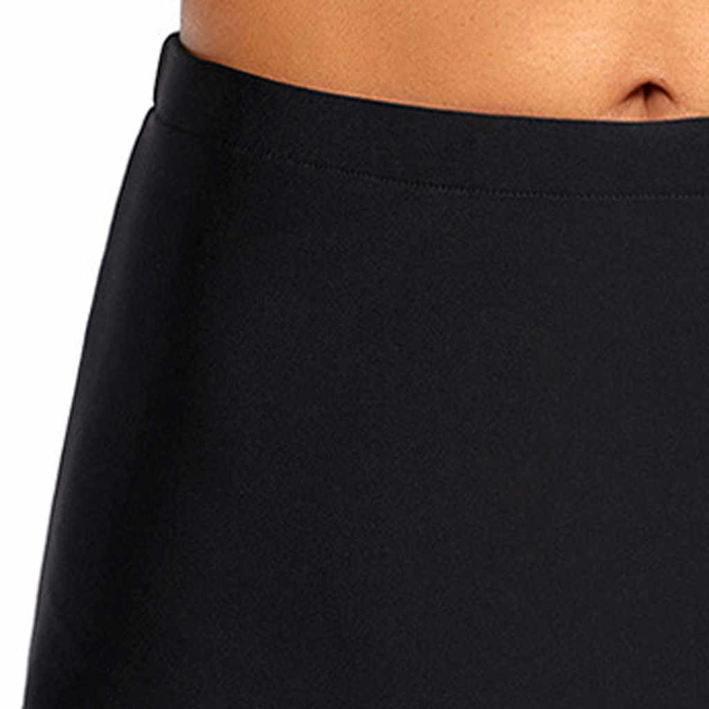 59174e8306 ... Women Girls High Waist Sexy Tankini Beach Skinny Swimwear Trunks Pants  Brief Briefs Beach Shorts Swimming ...