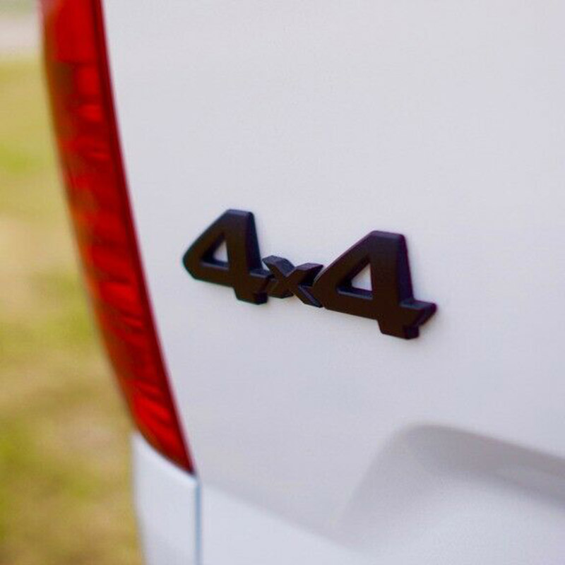 Image 3 - Прочный 4x4 эмблема значок на замену для Марка Toyota Tacoma Tundra грузовики аксессуары-in Наклейки на автомобиль from Автомобили и мотоциклы