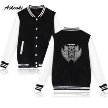 Fashion Linkin Park Baseball Jacket Women Autumn Winter Jacket Coat Long Sleeve Womens Jackets women casual