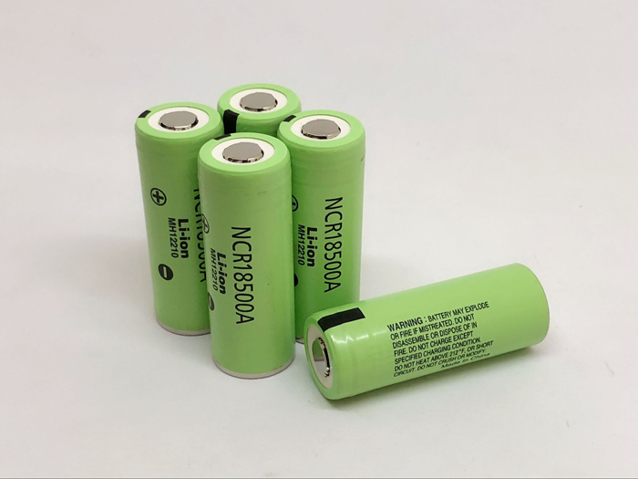 New Original <font><b>Battery</b></font> For Panasonic NCR18500A 2040mAh <font><b>18500</b></font> <font><b>3.7V</b></font> Rechargeable Lithium Flashlight Torch <font><b>Batteries</b></font> image