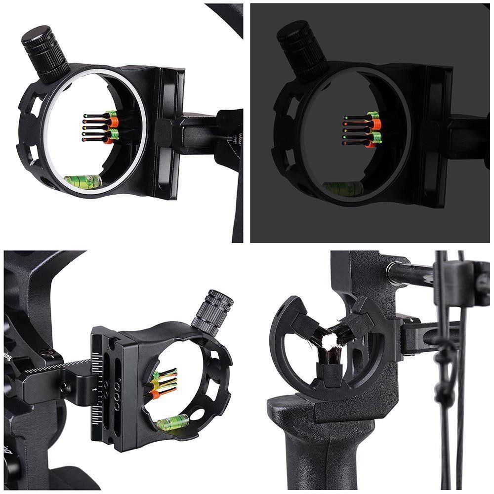 Junxing M120 Sueño Caza Compuesto Arco Mano derecha Tiro al aire - Caza - foto 5