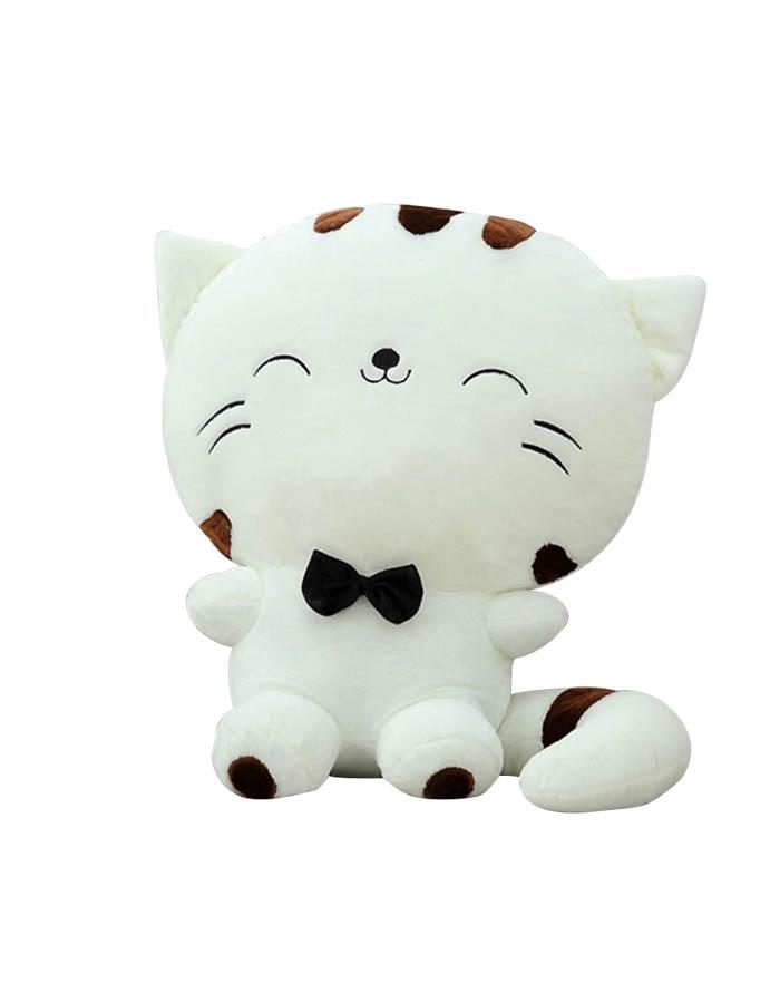 20CM Cute Kawaii Cat with Bow Plush Dolls Toys Gift Stuffed Soft Doll Cushion Sofa Pillow Gifts Xmas Gift Party Decor Stuffed Animals & Plush cb5feb1b7314637725a2e7: White|Yellow