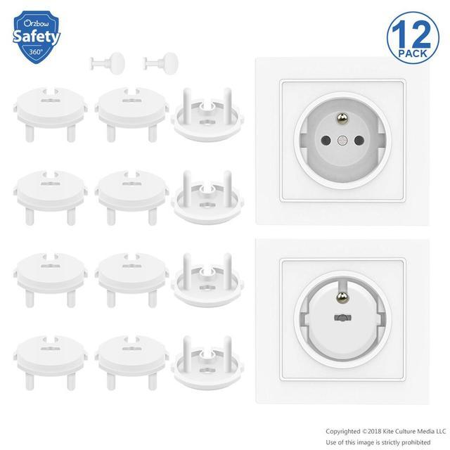 20pc électrique principal Plug Socket couvercle de sécurité bébé//enfant sécurité Protecteur UK NEUF