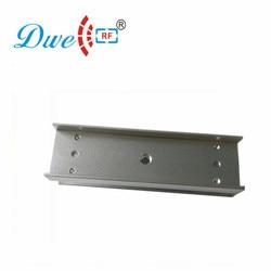 DWE CC RF zamek elektryczny uchwyt 180 KG zamek magnetyczny dla szklane drzwi z uchwytem U DW 180U|locks for glass|locks for glass doorslock electric lock -