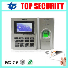 Biometric fingerprint time attendance with MF card reader TCP/IP USB ZK linux system office employee time recording attendance