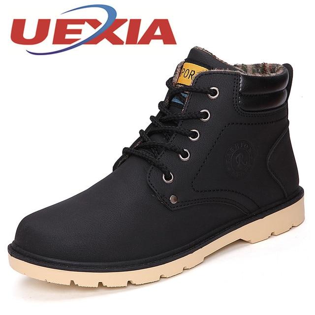 bd823785 Moda para hombre de Alta Top Zapatos botines Otoño Cómodos zapatos de  Trabajo Zapatos Casuales Martin