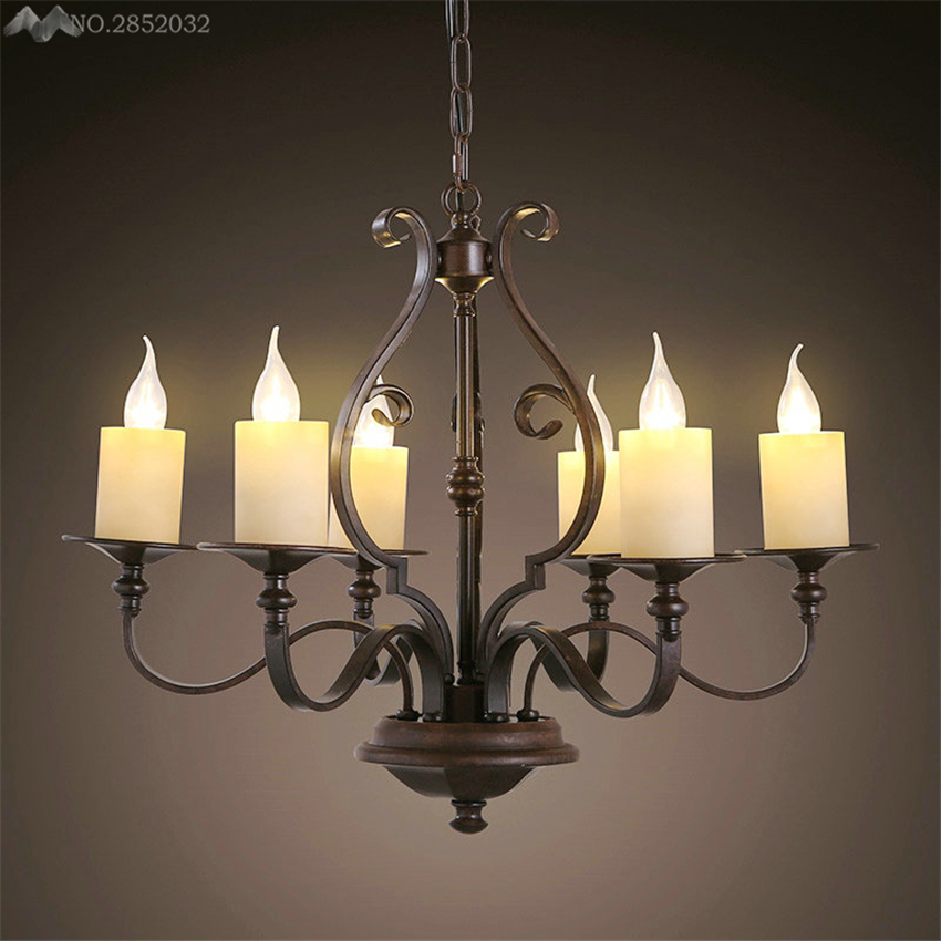Great Modern Pendant Lamp LED Candle Chandelier Kevin Reilly Altar Replica Light  Metal Fixture Candle Suspension Lighting