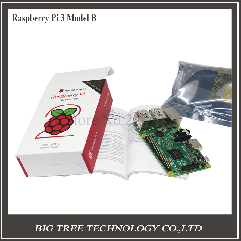 BIQU Original Raspberry Pi 3 Model B 1GB RAM 6 times faster than Raspberry Pi Model B plus Made in UK element 14 diy
