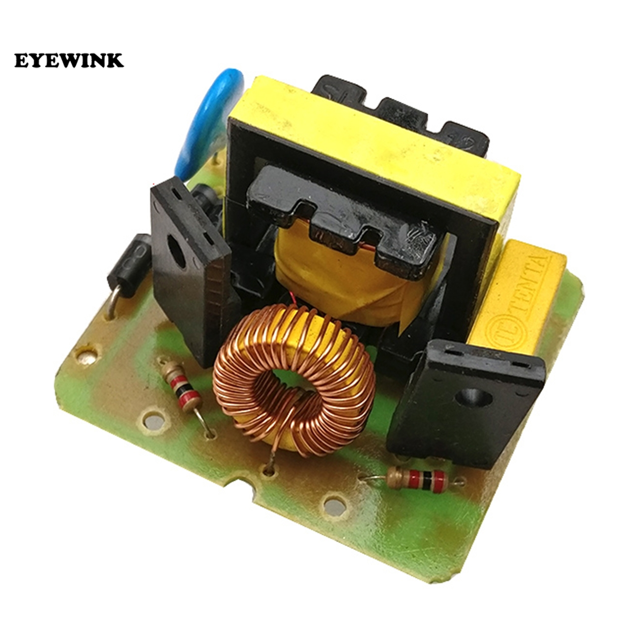 Free Ship1pcs 500w Power Supply Boost Inverter Dc 12v 16v To Ac 18v Circuit Using Transistor 2n3055 Electronic 220v Step Up Module 35w Dual Channel
