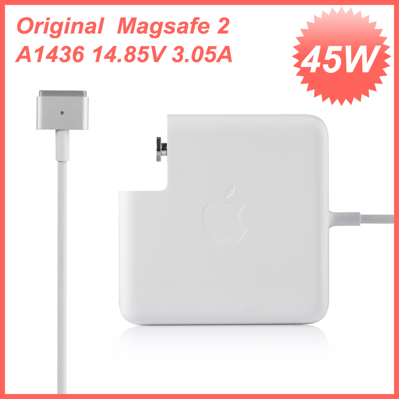Genuine Original OEM APPLE MacBook Air Magsafe2 45W Power Adapter Charger A1436