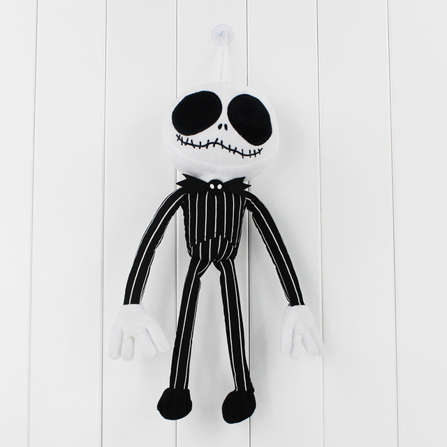 35cm The Nightmare Before Christmas Plush Doll Jack Skellington Stuffed Toy  for Children 06bffdfb4d