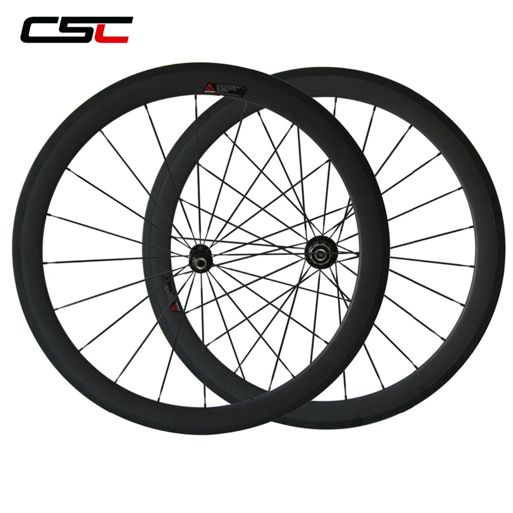 No Outer Holes SAT 100g Less Ultra light Carbon Wheels Clincher Road Bicycle Wheels Tubeless Compatible