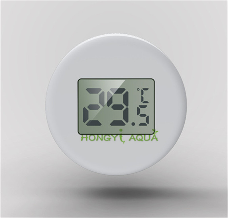 SUNSUN Fish tank Electronic thermometer Suction cup font b Pet b font box thermometer Diving LCD