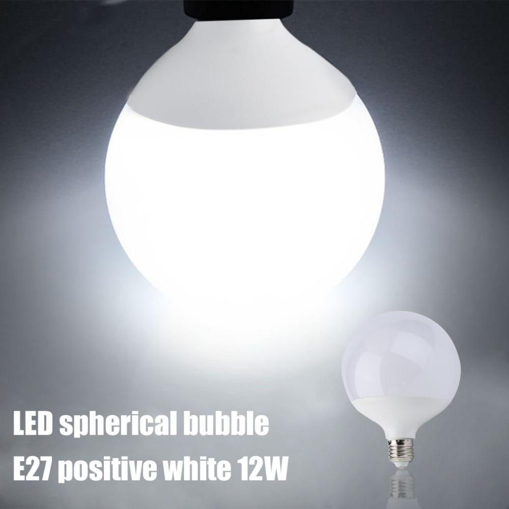 3/5/7/9/12/15W Super Bright E27 LED Light Bulb Energy Saving Global Ball Shape Home LED Light Lamp Bulb White/Warm White