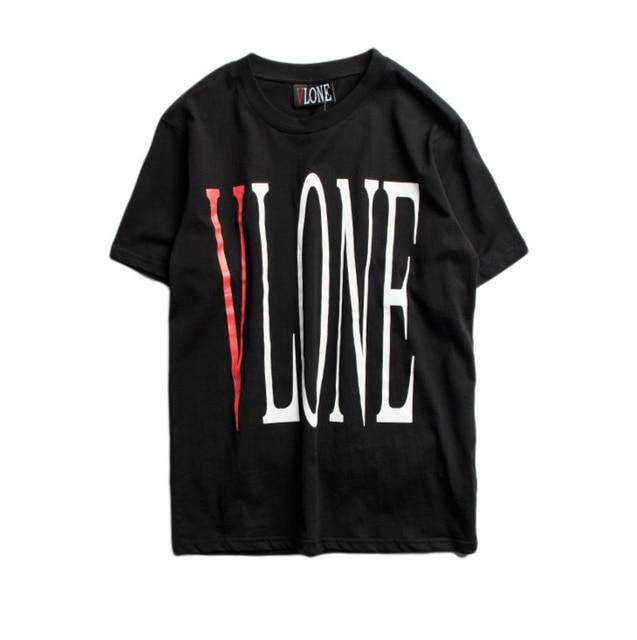 8fc04135 new VLONE t shirt men fashion Summer 100% cotton Hip-Hop fashion tees  Version