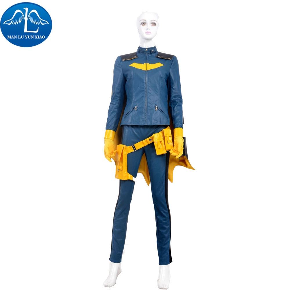 MANLUYUNXIAO New Arrival Batman Batgirl Cosplay Costume Custom Made Full Suit Halloween Costumes For Women