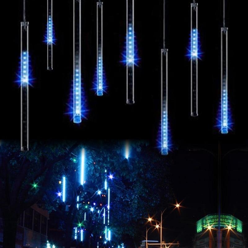 Guirlande Guirlande d'extérieur Led, Tube de douche de météores 30CM 50CM 110 V-230 V