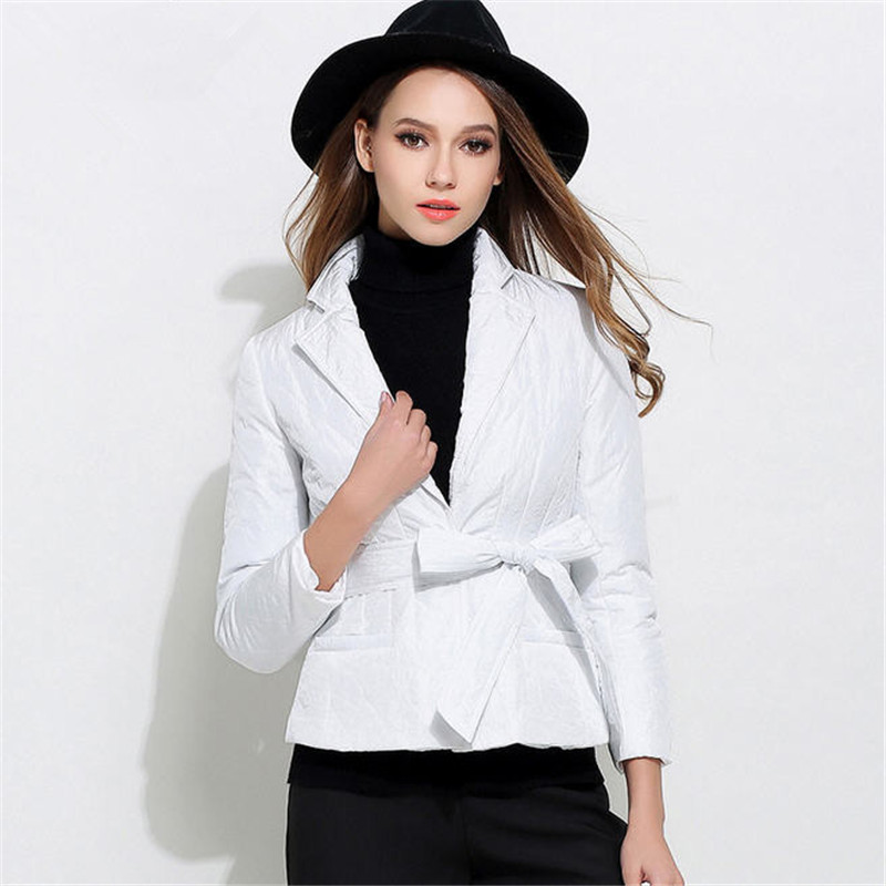 Fall Fashion Women Suit Collar Short Parkas Female High Quality Solid Slim Cotton Padded Jacket Thickening Winter Outwear MA070 frank buytendijk dealing with dilemmas where business analytics fall short