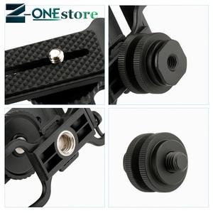 Image 2 - Boya BY C10 microfone choque montagem para zoom h4n/h5/h6 para sony tascam dr 40 dr 05 gravadores microfone shockmount olympus tascam
