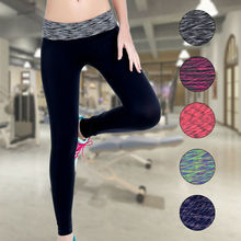 New sports running fitness pants winter warm seamless yoga pants tight leggings speed dry yoga clothes