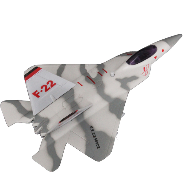 free shipping F22 fighter alloy toy plane plain toy